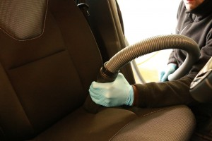 Nettoyage voiture par professionnel